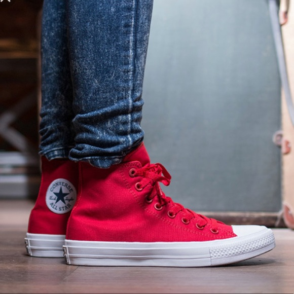 a4a68b9c751c NWT Converse CT OX HI Salsa Red HT M AUTHENTIC